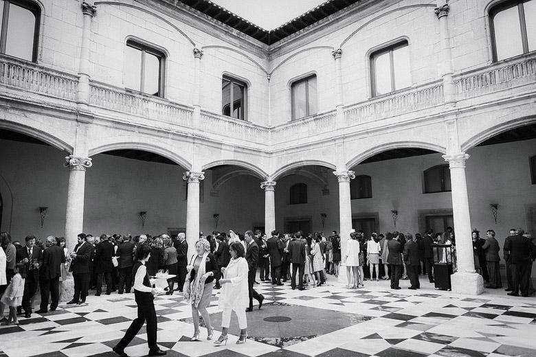 Boda en el Palacio de Saldañuela