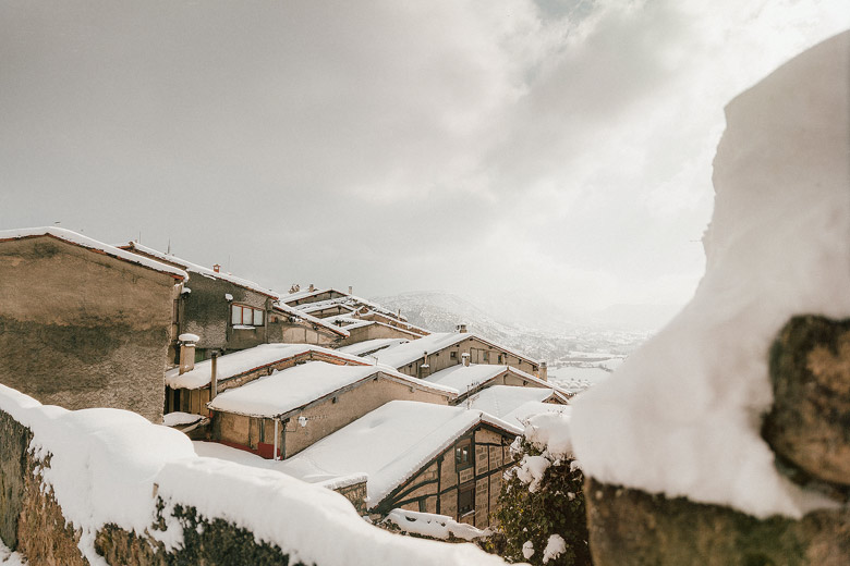 Invierno en Frías Burgos